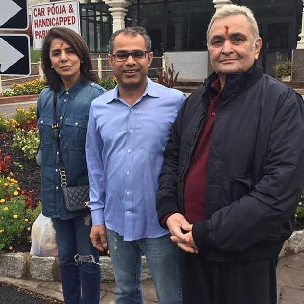 In NYC Fans excitedly share pictures with Rishi Kapoor and Neetu Kapoor on social media