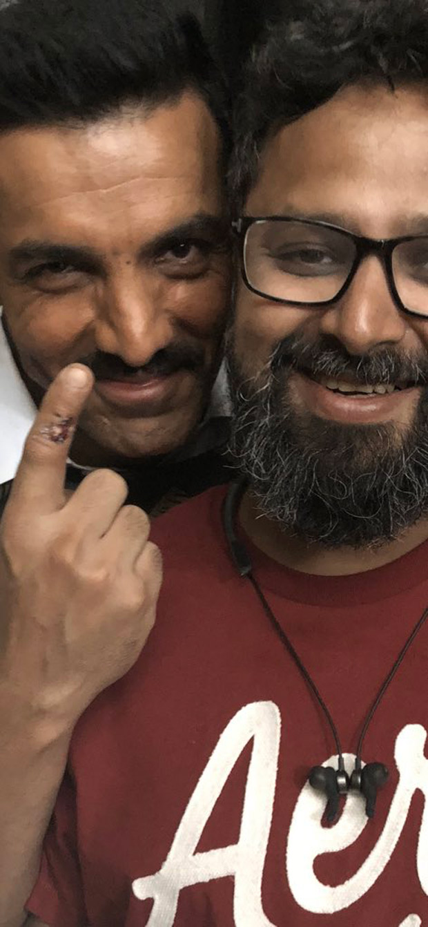 John Abraham share image from sets of Batla House; says he shed blood for the film