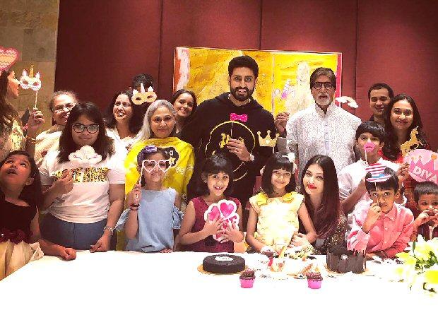 Aishwarya Rai Bachchan and Abhishek Bachchan throw the most amazing bash for Aaradhya on her 7th birthday