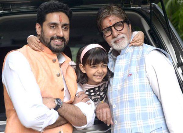 Amitabh Bachchan and Abhishek Bachchan has the sweetest wish for Aaradhya Bachchan's birthday