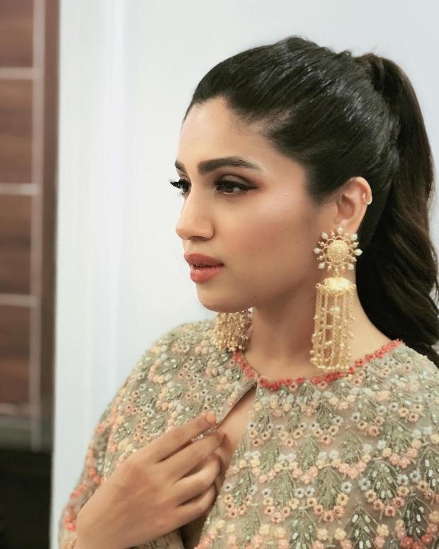 Bhumi Pednekar in Varun Bahl Couture for his store launch in Mumbai (2)
