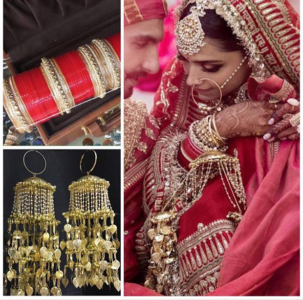 Deepika Padukone Bridal Jewellery from Ra Abta by Rahul