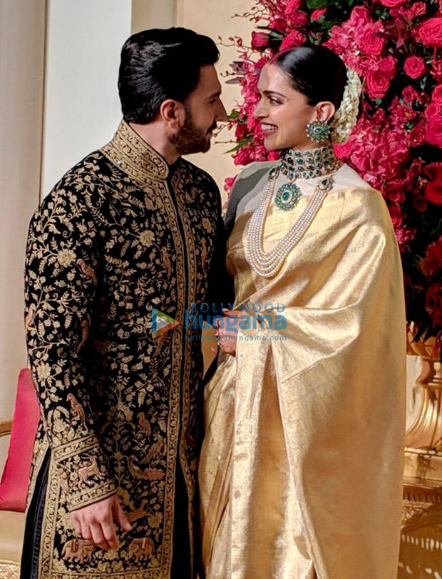 Deepika Padukone - Ranveer Singh Reception: Newlyweds look REGAL and RADIANT in Bengaluru