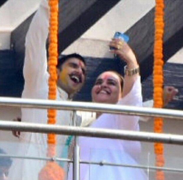 Deepika Padukone - Ranveer Singh Wedding: Groom kick-starts his Haldi ceremony in full excitement (see INSIDE pics)
