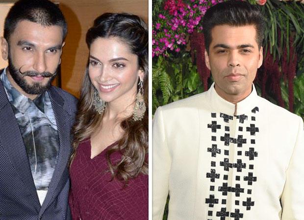 Deepika Padukone and Ranveer Singh get married in Italy, Karan Johar says 'nazar utar lo'