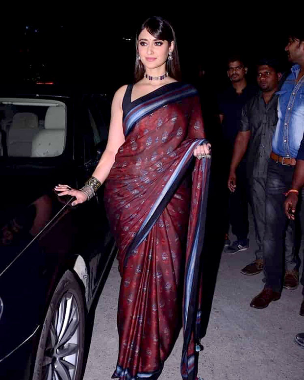 Slay or Nay - Ileana D'Cruz in Anita Dongre for Amar Akbar Anthony trailer launch in Hyderabad (Featured)