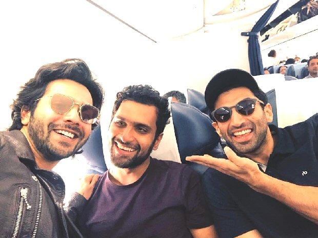 Kalank duo Varun Dhawan and Aditya Roy Kapur wrap up Indore schedule with their bromance