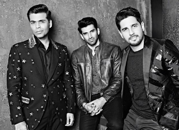 Koffee With Karan 6 Sidharth Malhotra and Aditya Roy Kapur come together for Karan Johar's chat show