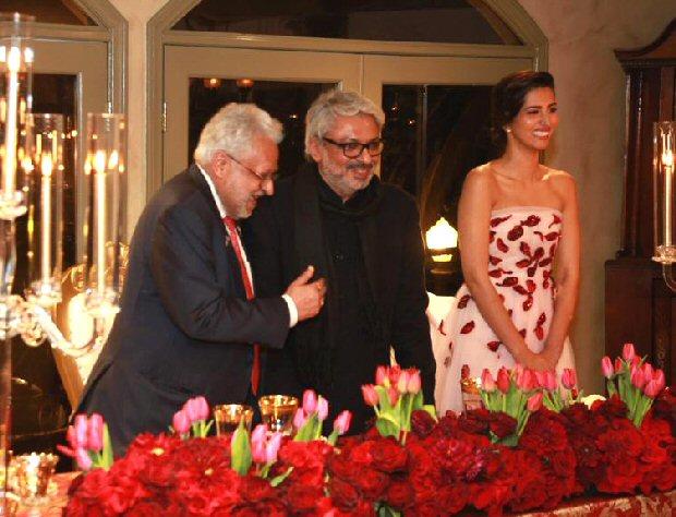Manasvi Mamgai hosts a royal thanksgiving for Padmaavat director Sanjay Leela Bhansali