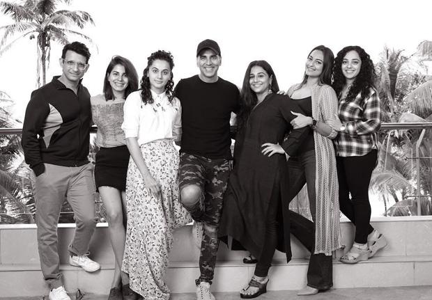 Mission Mangal: Akshay Kumar, Vidya Balan, Taapsee Pannu, Sonakshi Sinha, Kriti Kulhari, Sharman Joshi and Nithya Menen join the cast