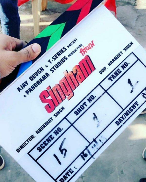 Punjabi remake of Ajay Devgn's Singham goes on floor