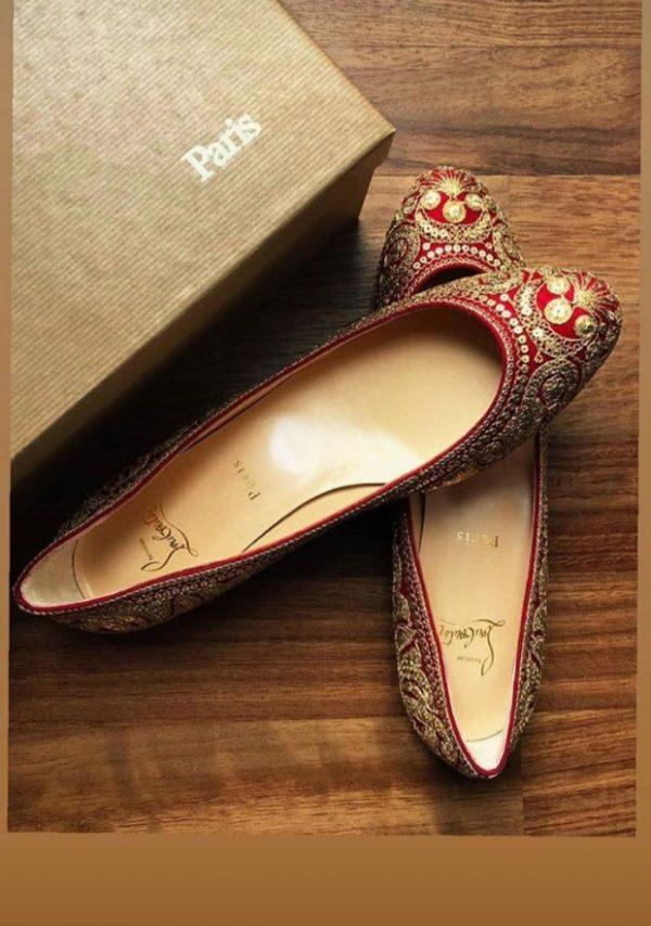 Ranveer Singh – Deepika Padukone Wedding Shoe Affair Sabyasachi x Christian Louboutin (2)