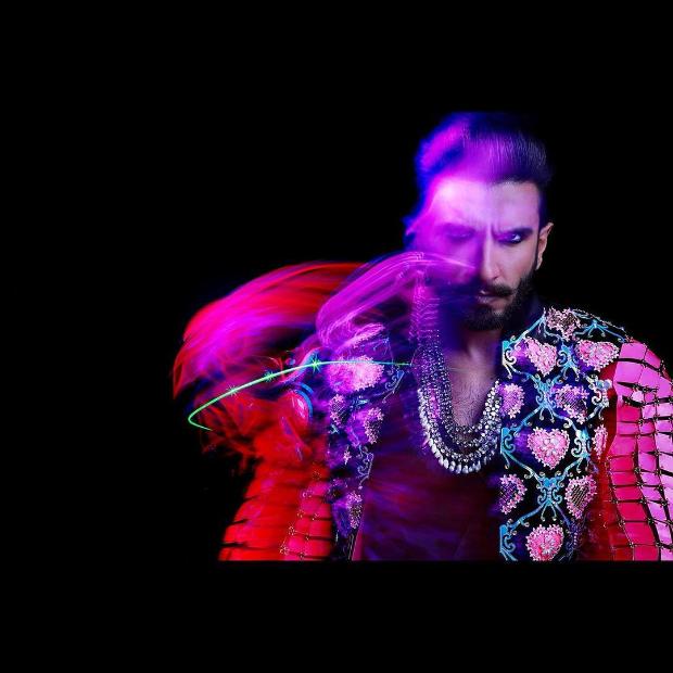 Ranveer Singh in Manish Arora for his wedding party (2)