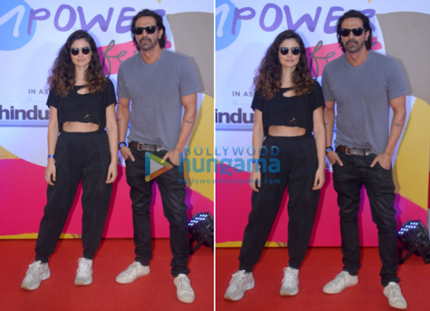 SPOTTED: Arjun Rampal with South African model Gabriella Demetriades