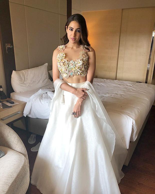 Sara Ali Khan in Abu Jani - Sandeep Khosla for Kedarnath trailer launch (1)