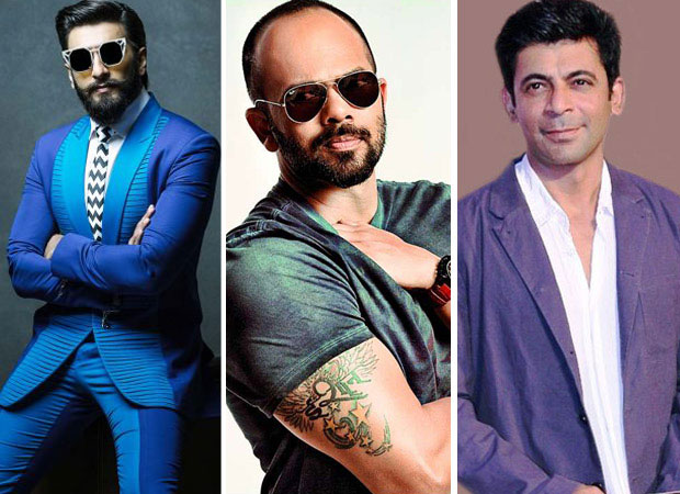 Simmba team Ranveer Singh and Rohit Shetty will kick off the Sunil Grover show as its first guests