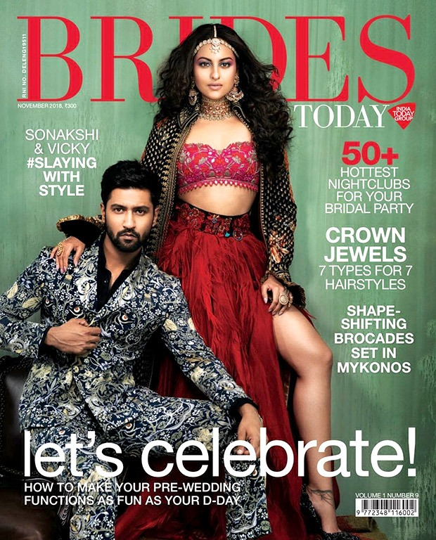 Sonakshi Sinha and Vicky Kaushal for Brides Today photoshoot (5)