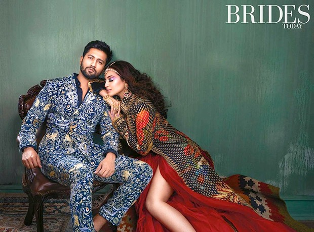 Sonakshi Sinha and Vicky Kaushal for Brides Today photoshoot (6)