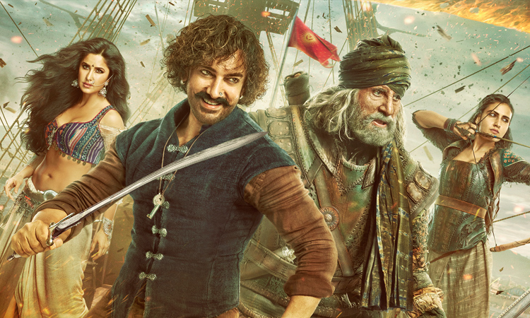 Movie Review: Thugs Of Hindostan is a King-Sized disappointment!