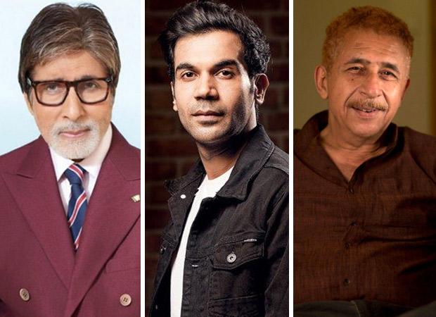 WOAH! Amitabh Bachchan, Rajkummar Rao and Naseeruddin Shah to team up for a film