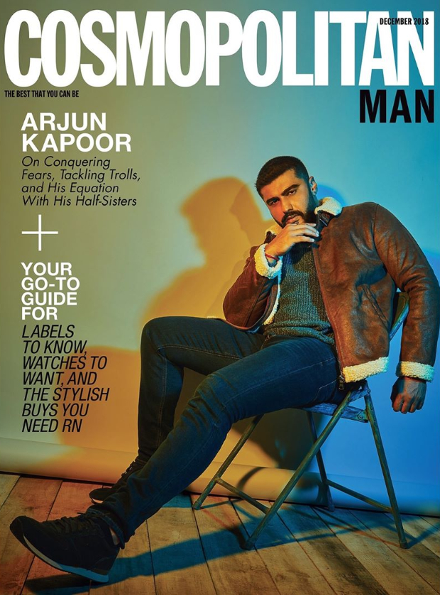 Arjun Kapoor for Cosmopolitan Man
