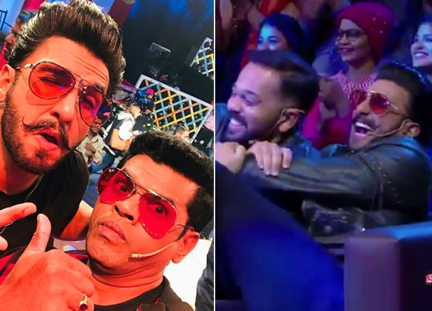 Chala Hawa Yeu Dya Ranveer Singh, Sara Ali Khan and Rohit Shetty burst out in laughter after watching Simmba trailer spoof