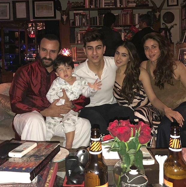 Christmas 2018: Sara Ali Khan, Ibrahim Ali Khan join dad Saif Ali Khan, little bro Taimur and Kareena Kapoor Khan for the celebrations