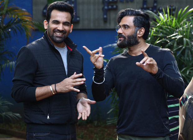 Cricketer Zaheer Khan to join hands with Suniel Shetty for his debut?