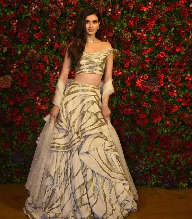 DIana Penty at Ranveer Singh - Deepika Padukone wedding reception