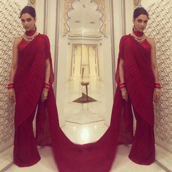 Deepika Padukone in Faabiiana for Isha Ambani – Anand Piramal sangeet festivities (3)