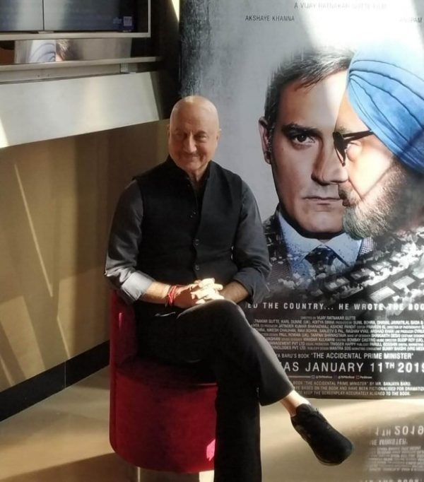 """""""The Accidental Prime Minister is one of the most difficult roles I've ever performed"""" - Anupam Kher"""
