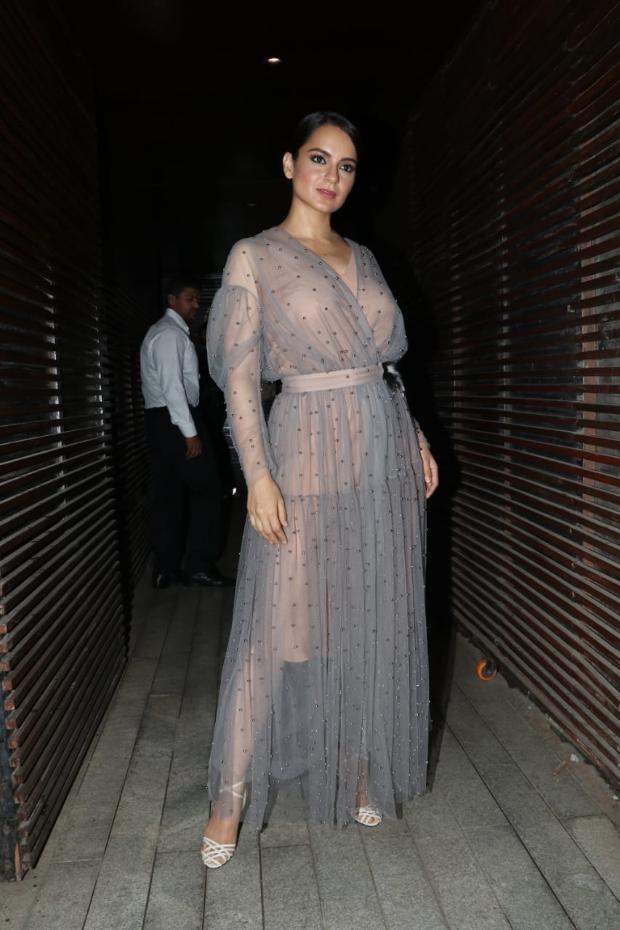 Kangana Ranaut in Alena Akhmadullina for Ankita Lokhande's birthday bash (2)