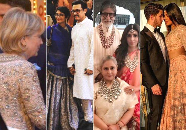 IN PICS Hillary Clinton, Aamir Khan, Amitabh Bachchan, Priyanka Chopra, Nick Jonas arrive at the lavish wedding of Isha Ambani - Anand Parimal