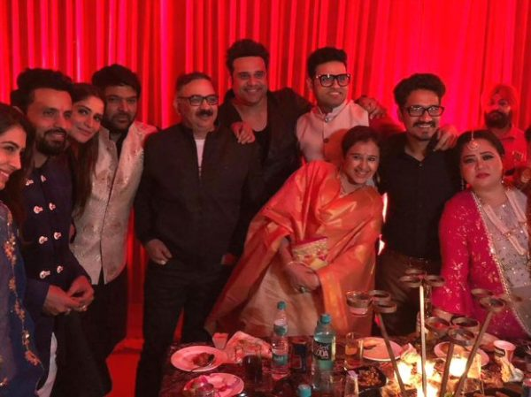 INSIDE PICS AND VIDEOS Kapil Sharma's Sangeet and Mata Ki Chowki celebrations The comedian looks all set to get married to Ginni Chatrath