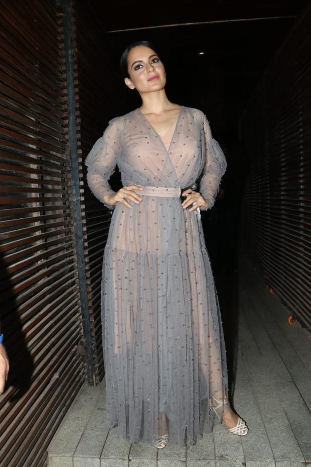 Kangana Ranaut in Alena Akhmadullina for Ankita Lokhande's birthday bash (3)