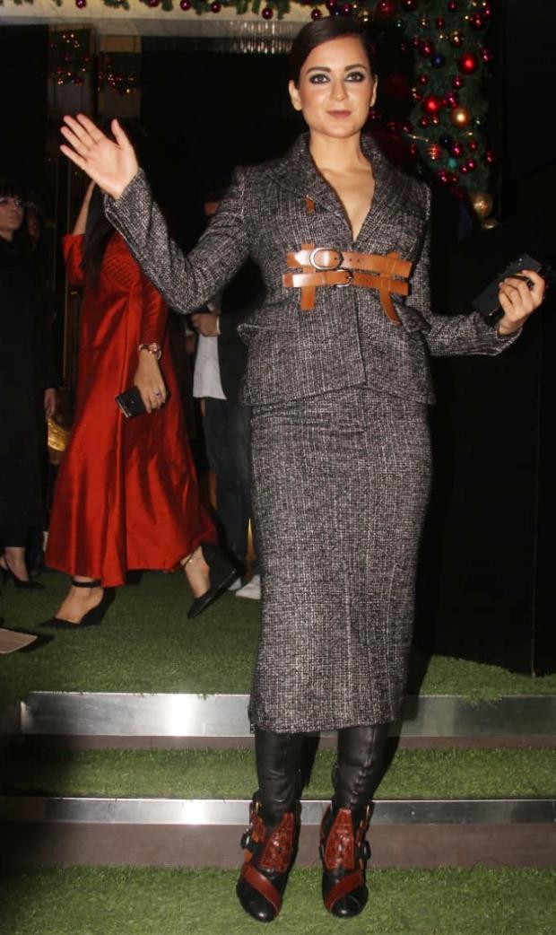 Kangana Ranaut in Tom Ford for Manikarnika bash by Neeta Lulla (3)