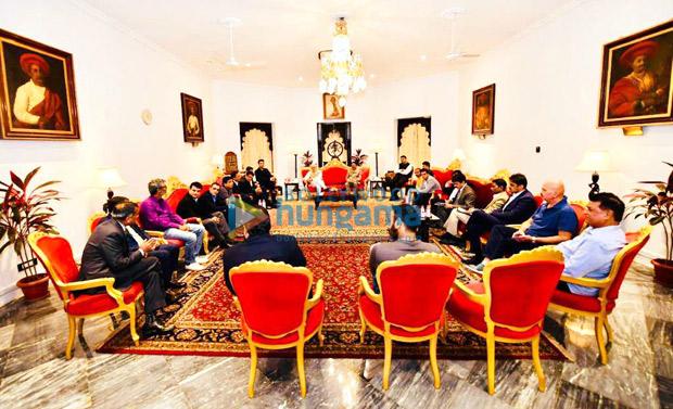 Karan Johar, Akshay Kumar, Ajay Devgn, Mahaveer Jain and others meet PM Narendra Modi to discuss issues concerning the industry