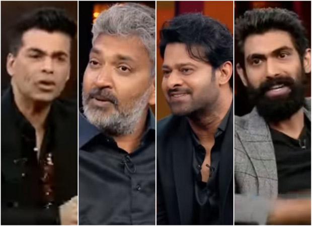 Koffee with Karan 6: SS Rajamouli reveals that Baahubali Prabhas is the real bad boy but Rana Daggubati always gets caught