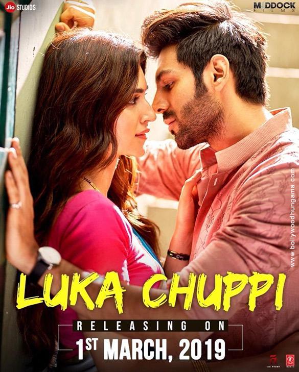 Dinesh Vijan's Luka Chuppi starring Kartik Aaryan and Kriti Sanon to release on March 1, 2019