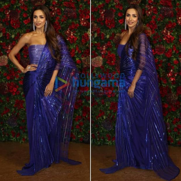 Malaika Arora Ranveer Singh - Deepika Padukone wedding reception
