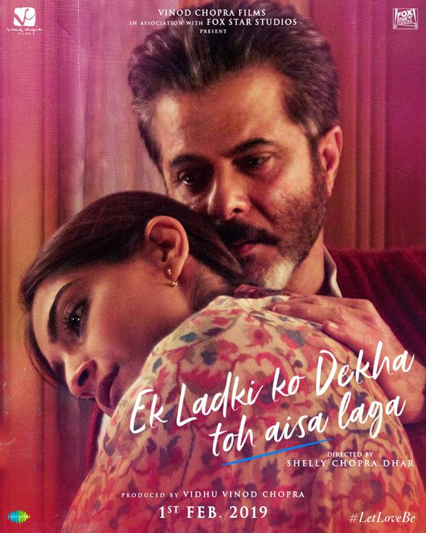 On Anil Kapoor's birthday, Ek Ladki Ko Dekha Toh Aisa Laga team unveils poster depicting the father - daughter bond