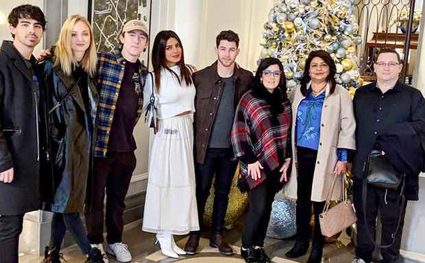 Priyanka Chopra kickstarts Christmas celebrations with hubby Nick Jonas, Joe Jonas, Sophie Turner and family in London