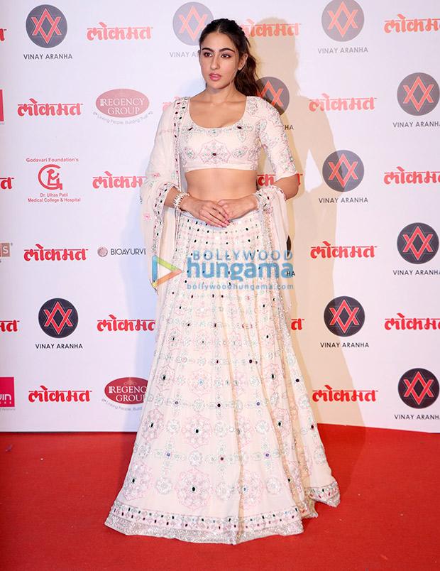 Sara Ali Khan in Manish Malhotra Couture for Lokmat Most Stylish Awards 2018 (2)