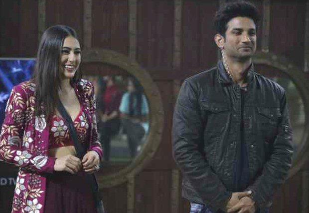 Sara Ali Khan meets Salman Khan on Bigg Boss 12; grooves with him and Sushant Singh Rajput on Sweetheart from Kedarnath