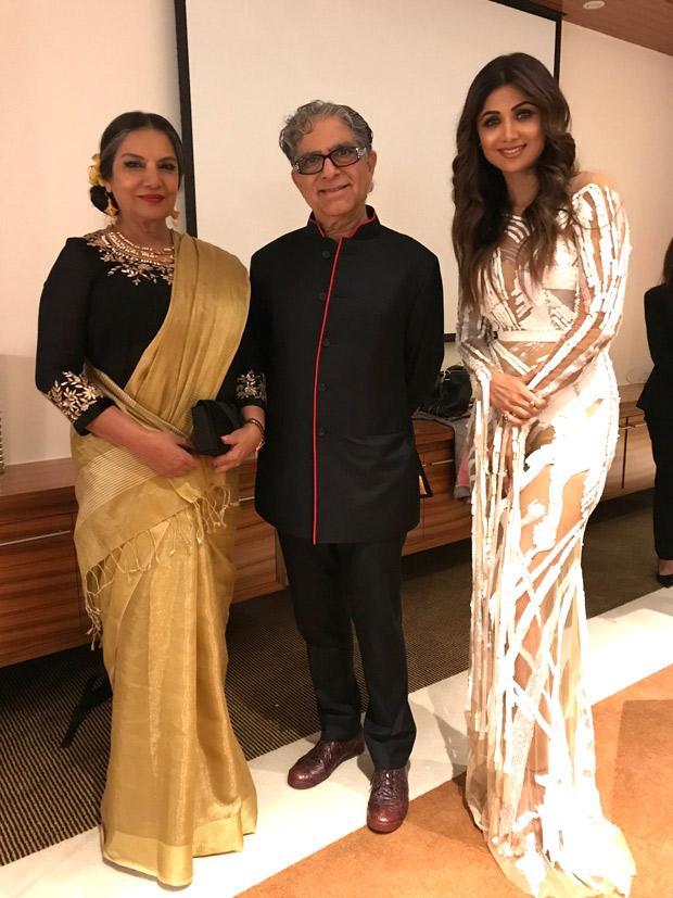 Shilpa Shetty and Shabana Azmi meet Hollywood star Eva Longoria at fundraiser at Global Gift Gala in Dubai