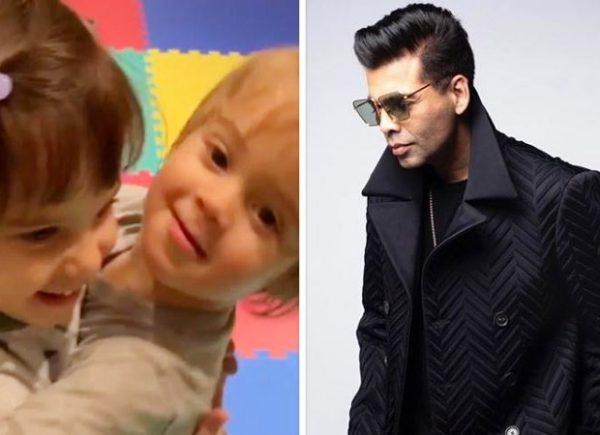 Sibling Love! POODLES Yash and Roohi Johar don't care for papa Karan Johar's TOODLES video