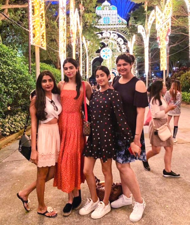 Sisters Janhvi Kapoor and Khushi Kapoor plan a special surprise for Anshula Kapoor in Singapore!