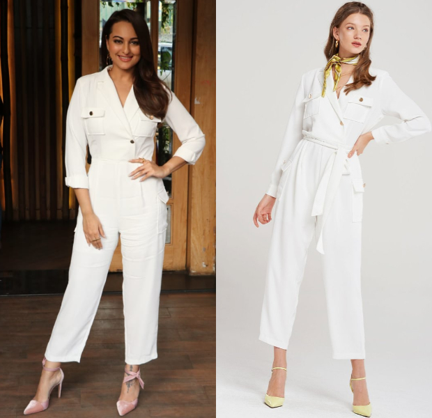 Sonakshi Sinha in Storets jumpsuit for an interview taping (6)