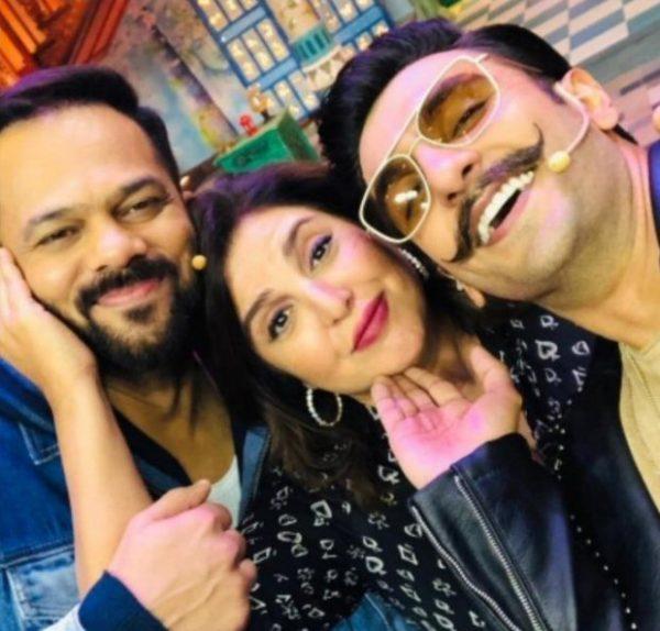 Sunil Grover gets naughty with Ranveer Singh over his marriage to Deepika Padukone and her 'Ek Chutki Sindoor'