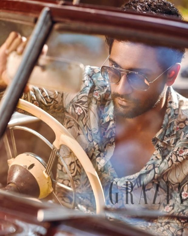 Vicky Kaushal for Grazia